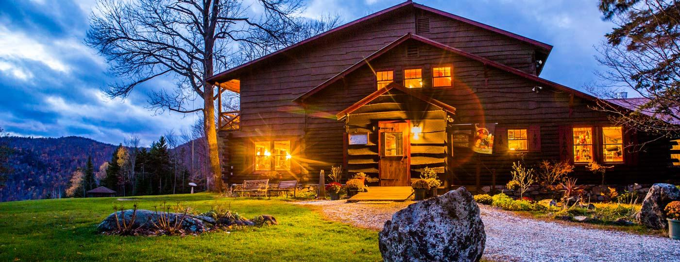 Garnet Hill Lodge entrance