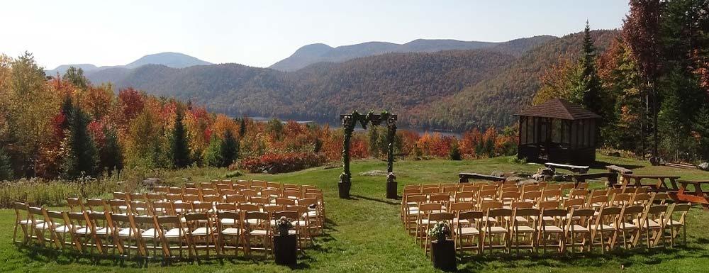 Garnet Hill Wedding Garnet Hill Lodge Ny