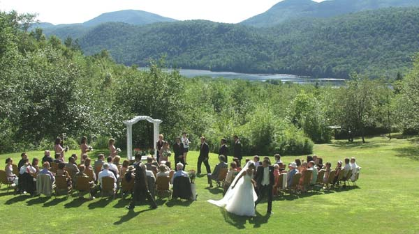 Wedding at Garnet Hill