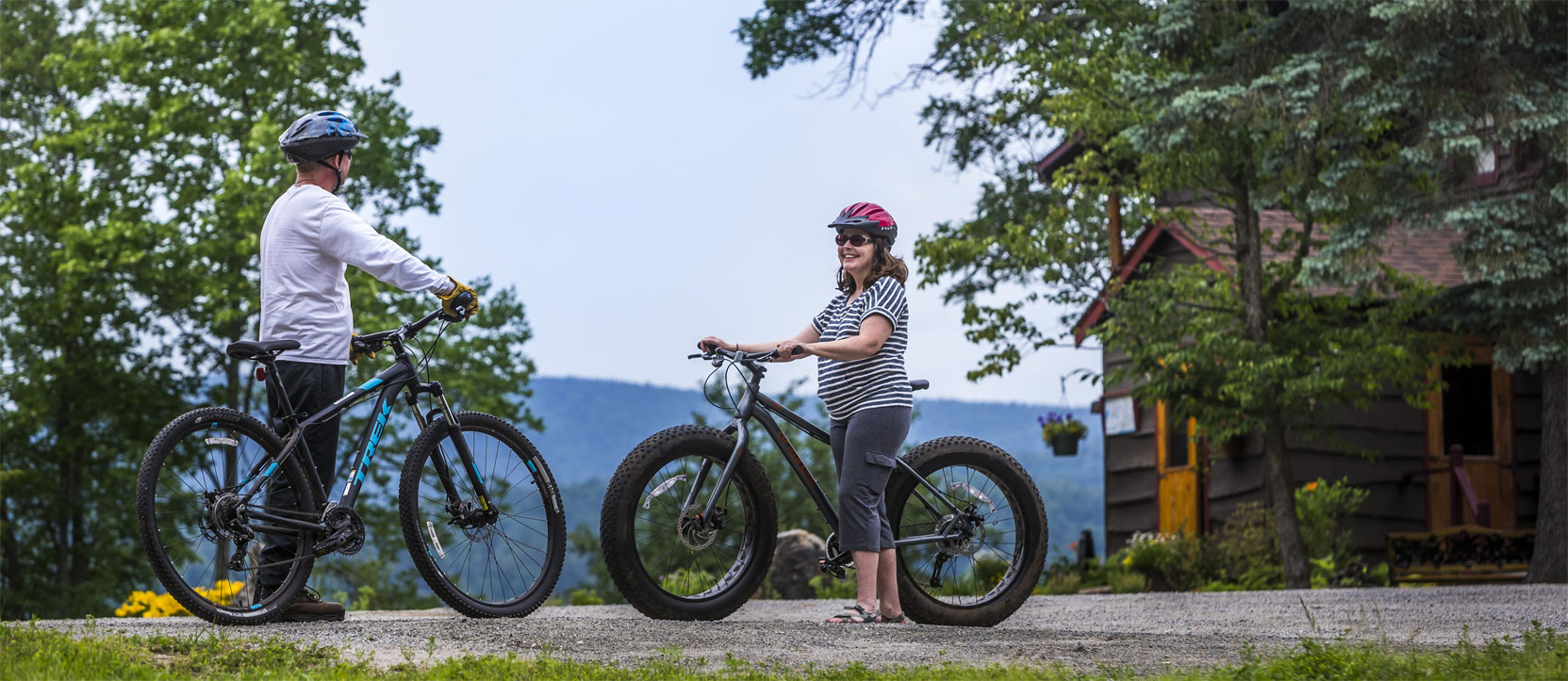 Mountain bike trails and rentals