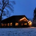 Garnet Hill Lodge Decorated for Holidays
