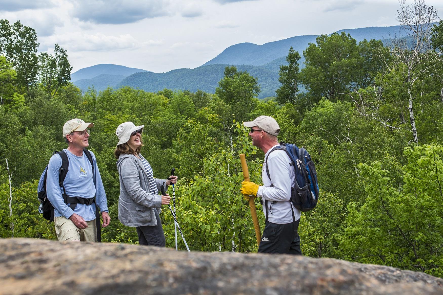 Hiking at Garnet Hill – Medium