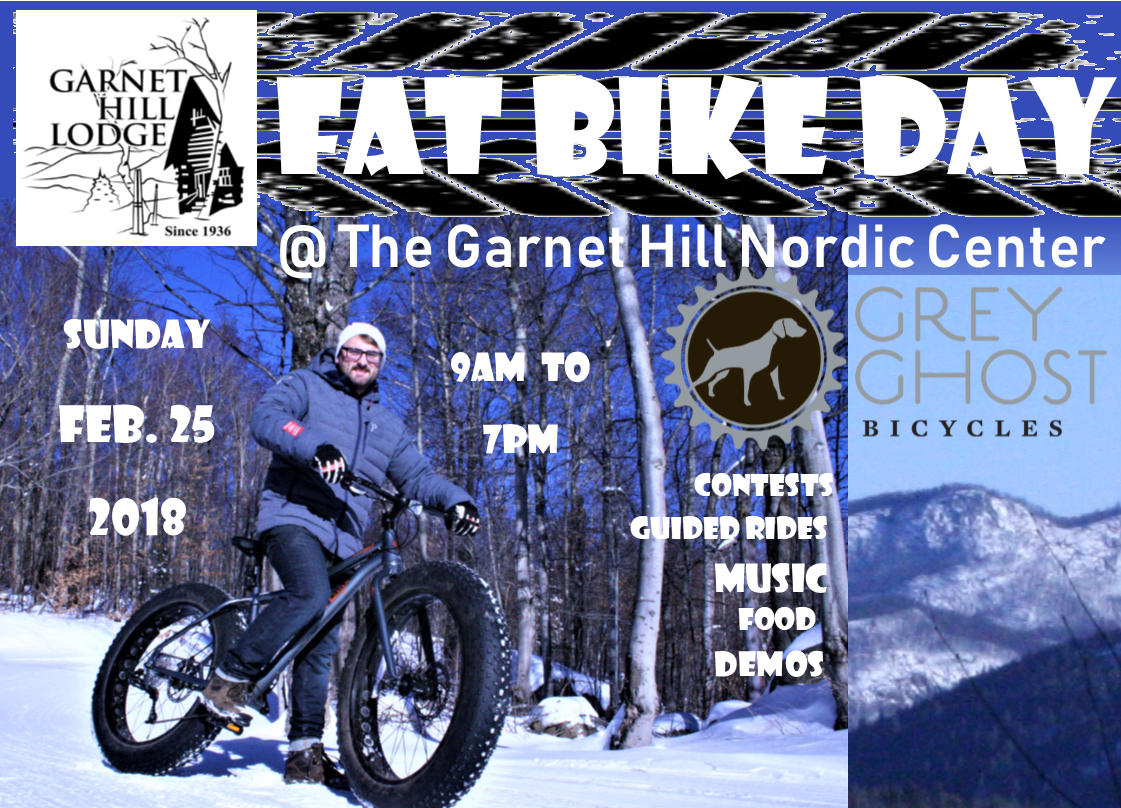Fat Bike Day Horizontal Garnet Hill Lodge Ny