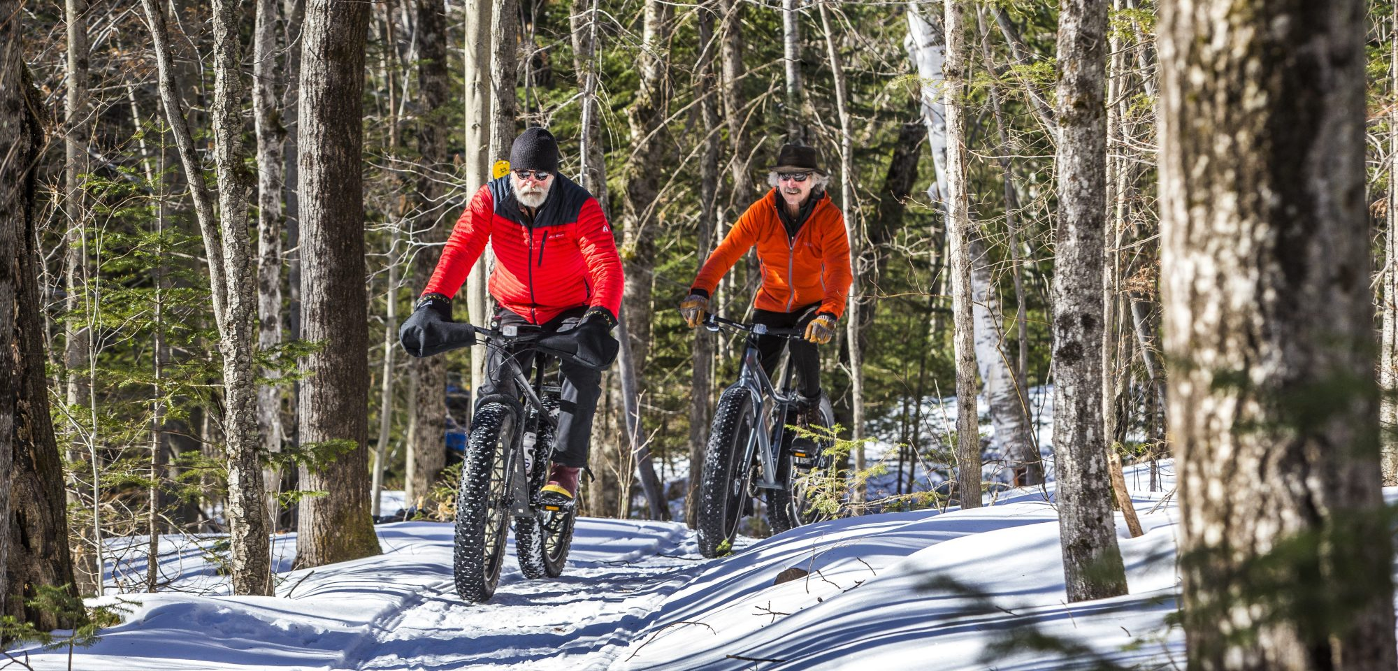 Fat Biking at Garnet Hill Lodge on Snow