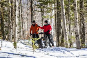Fat Biking at Garnet Hill Outdoor Center
