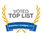 voted top list badge