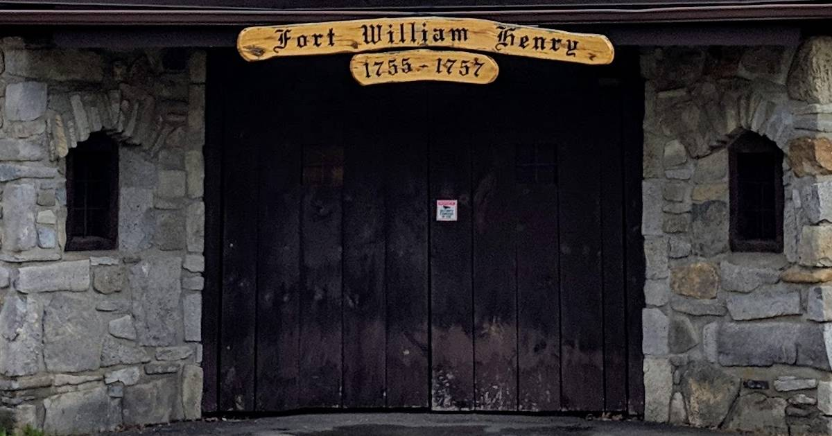 entrance to Fort William Henry