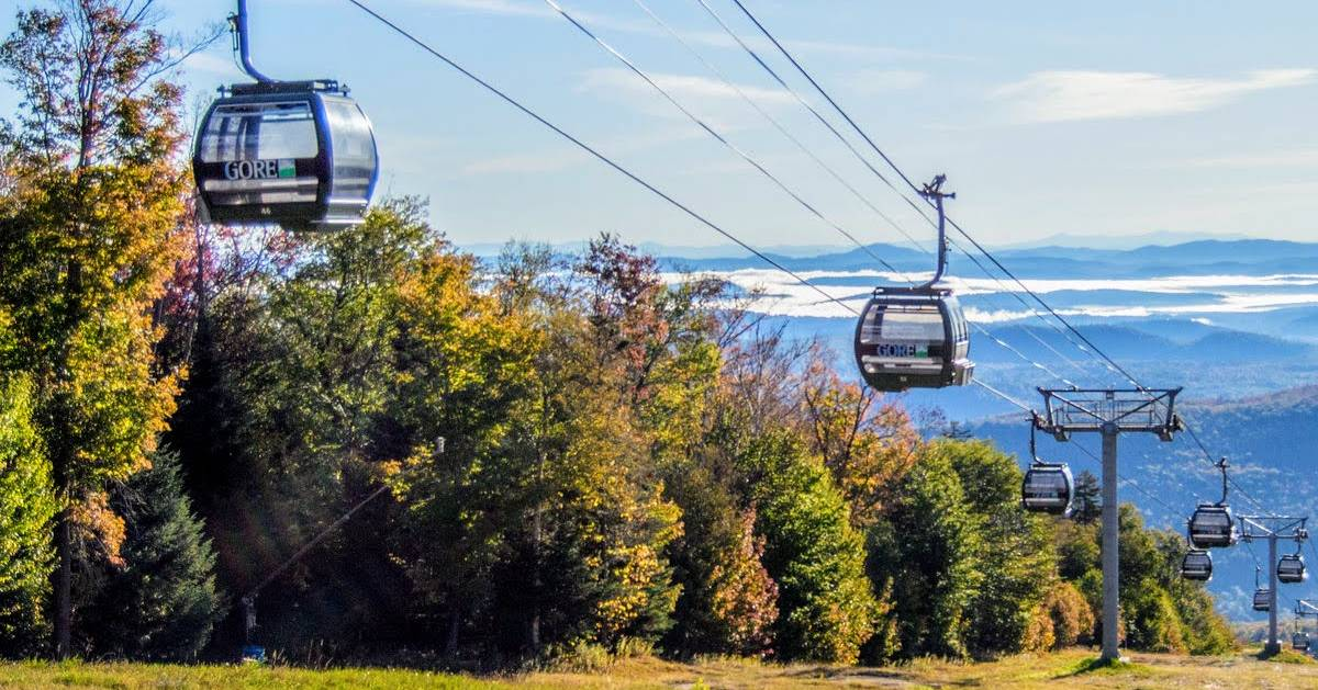 gondola rides in the fall